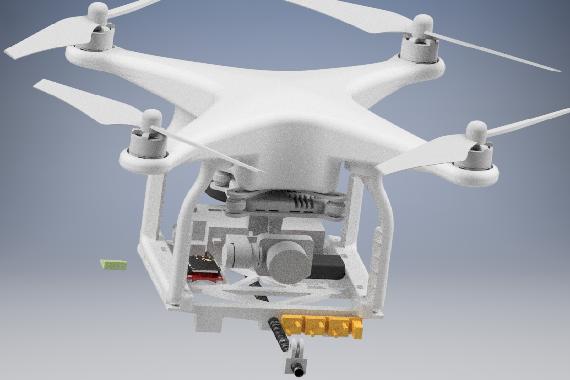 UAV Drohne